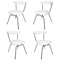 White Dining Chairs Set Of 4 Best High Canada 2016 Iron By Clifford Pascoe In