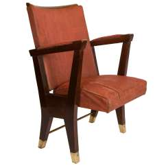 Movie Chairs For Sale Antique Metal Lawn Value 1950 39s Gio Ponti Theater Armchair At 1stdibs