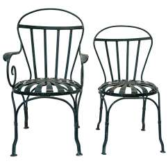 Iron Outdoor Chairs Fishing Chair Deals 4 Garden At 1stdibs