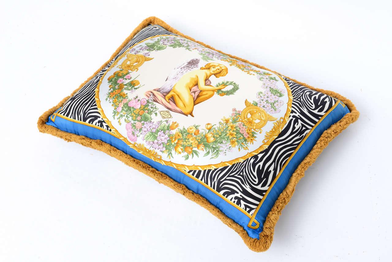 Atelier Versace Pillow At 1stdibs