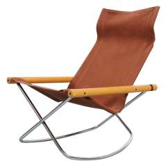 Foldable Rocking Chair Parson Chairs Overstock Takeshi Nii Ny Folding At 1stdibs