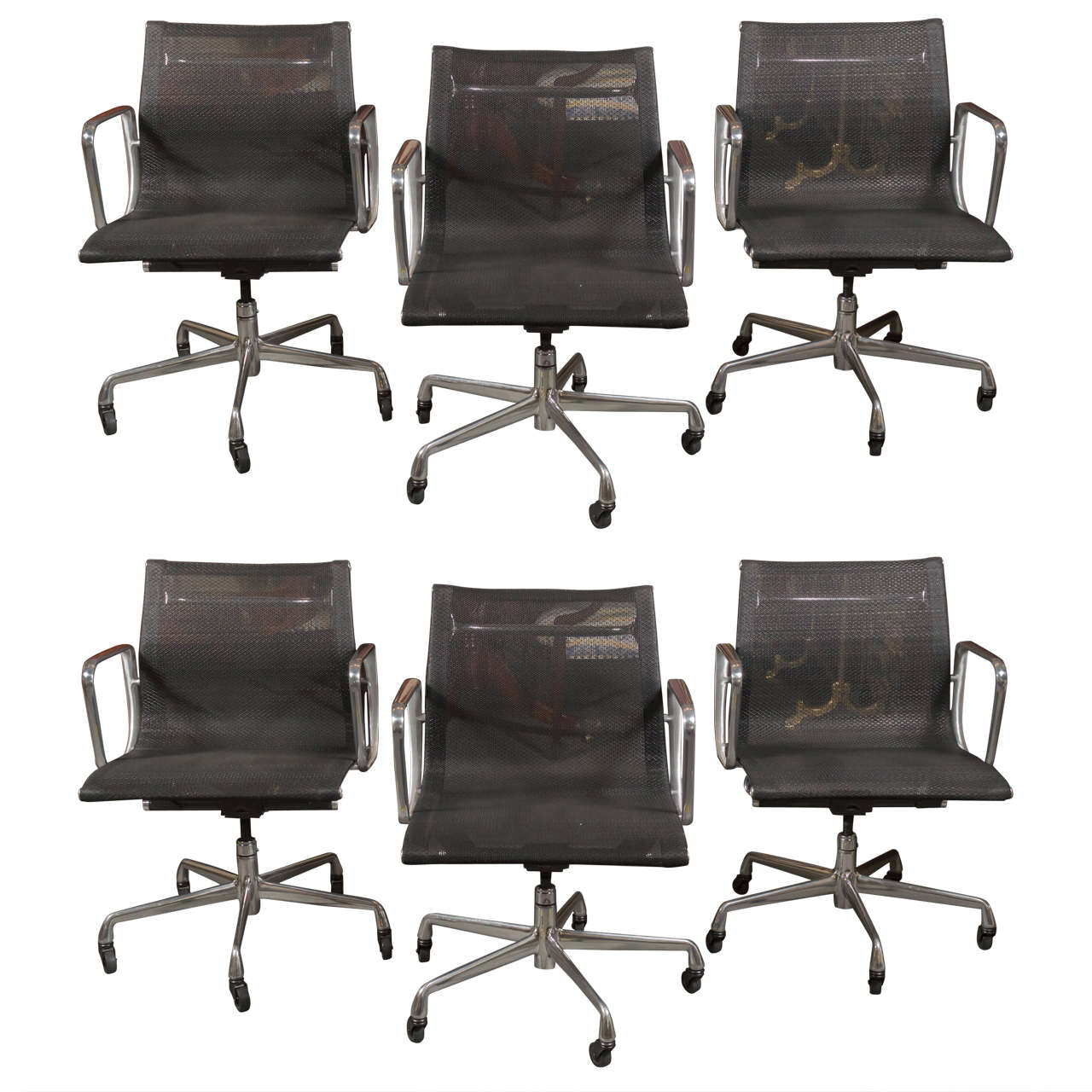 eames aluminum group management chair glider with ottoman india for herman miller chairs
