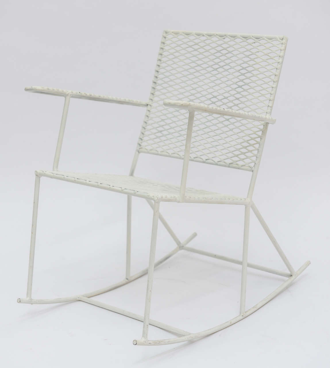 white rocking chairs for sale bedroom chair rail ideas pair of vintage mid century iron child