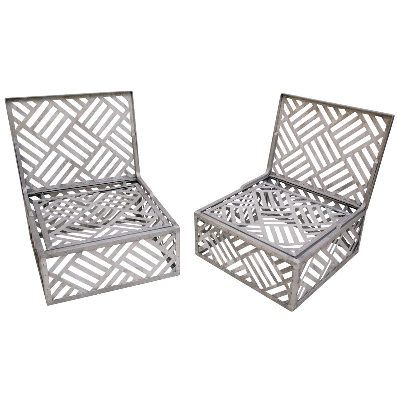 Pair Of Pool Chairs At 1stdibs