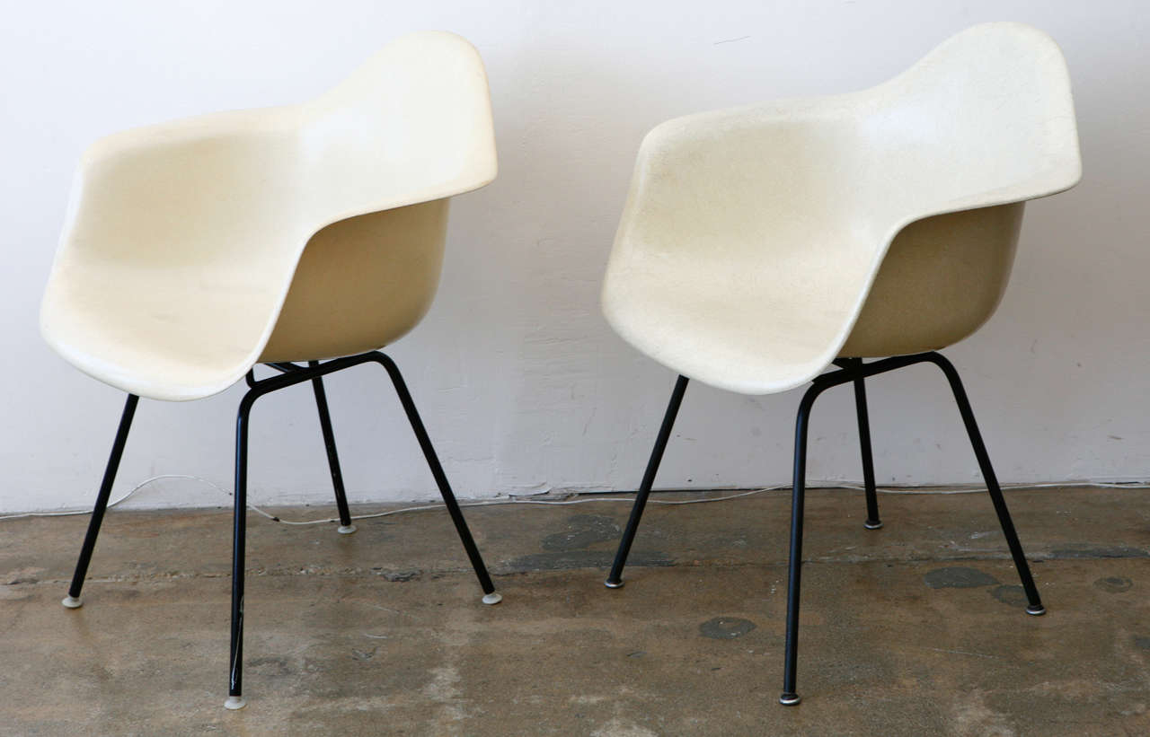 eames bucket chair revolving in rajkot chairs at 1stdibs