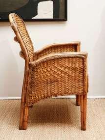 Vintage Wicker Furniture Chair