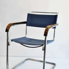 Wassily Chair Brown Leather Shower Commode Marcel Breuer B34 Armchair, Bauhaus At 1stdibs