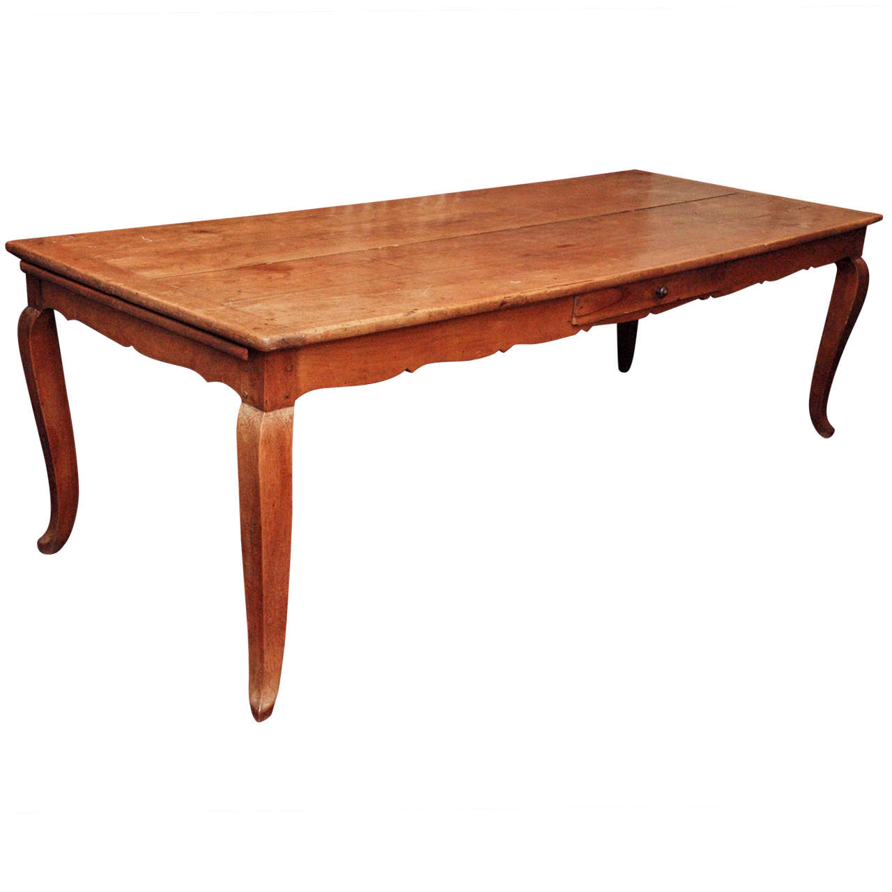A Large French Provincial Dining Table At 1stdibs