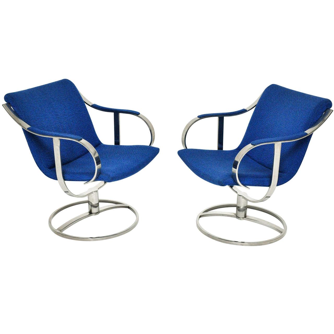 steelcase sofa platner moroccan ebay 1970's swivel lounge chairs at 1stdibs