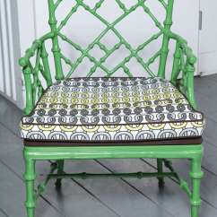 Patio High Back Chair Cushions Swing Used Phyllis Morris Faux Bamboo Cast Metal Arm Chairs, Set Of 6 At 1stdibs