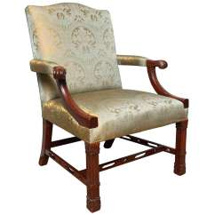 Chinese Chippendale Chairs Office Chair With Attached Desk English Style At 1stdibs