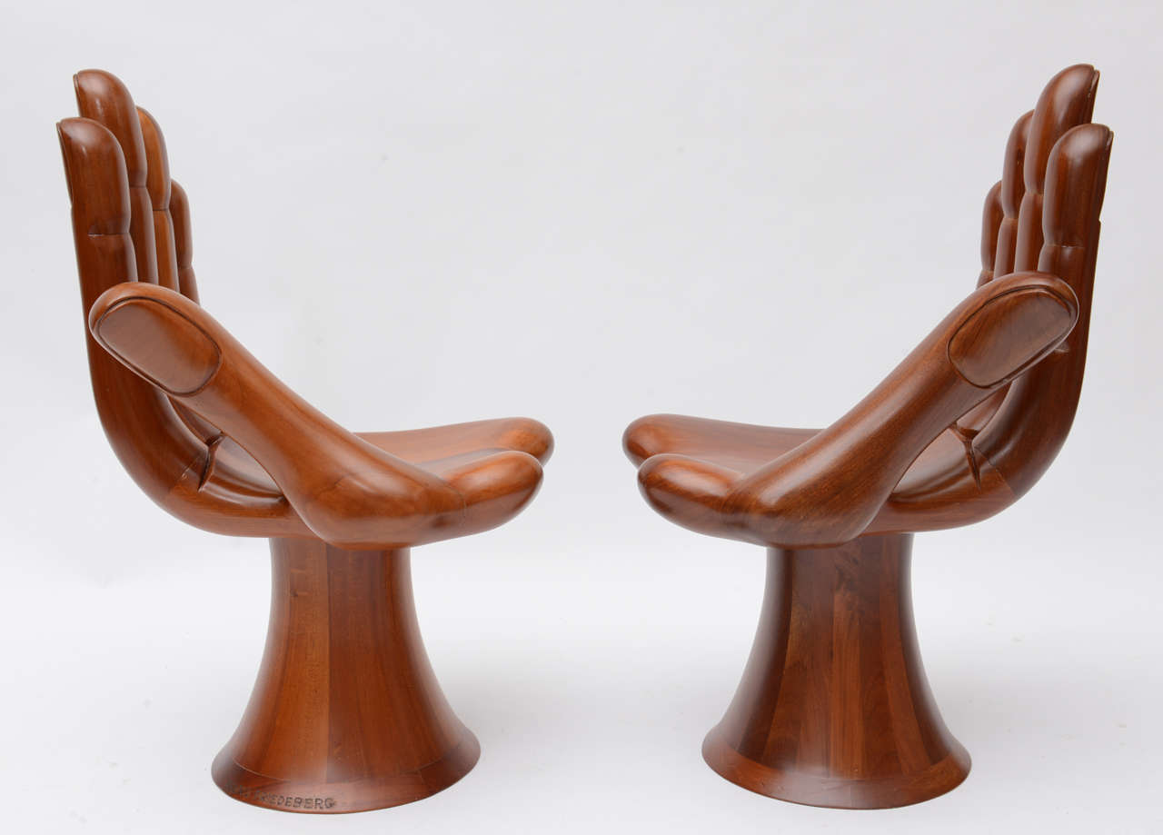 hand chairs stool chair pronunciation pedro friedeberg right and left at 1stdibs