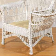Antique Wicker Chairs Spa Chair For Sale American Wing With Magazine Pocket At