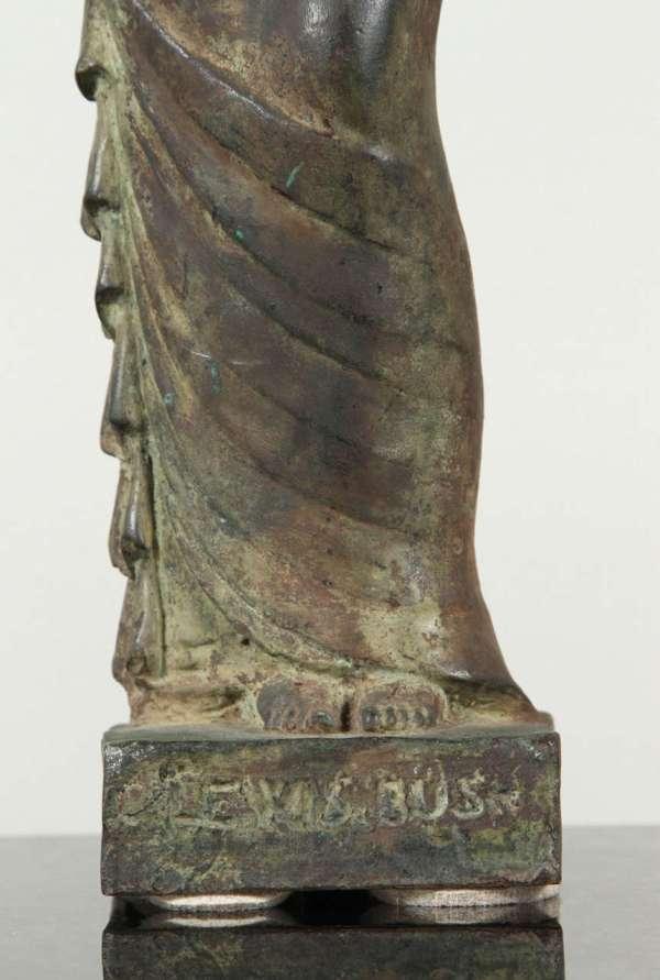 Art Deco Bronze Sculpture Gladys Lewis Bush