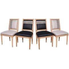Antony Todd Sofa Leather Restoration Collection Louis Xvi Dining Chairs At 1stdibs