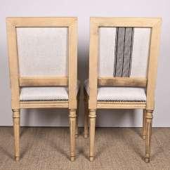 Antony Todd Sofa Retro Collection White Linen Louis Xvi Dining Chairs