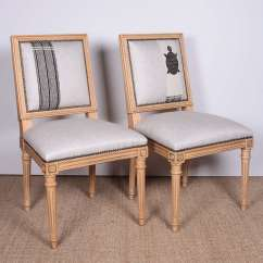 White Linen Chair Ergo Office Antony Todd Collection Louis Xvi Dining Chairs
