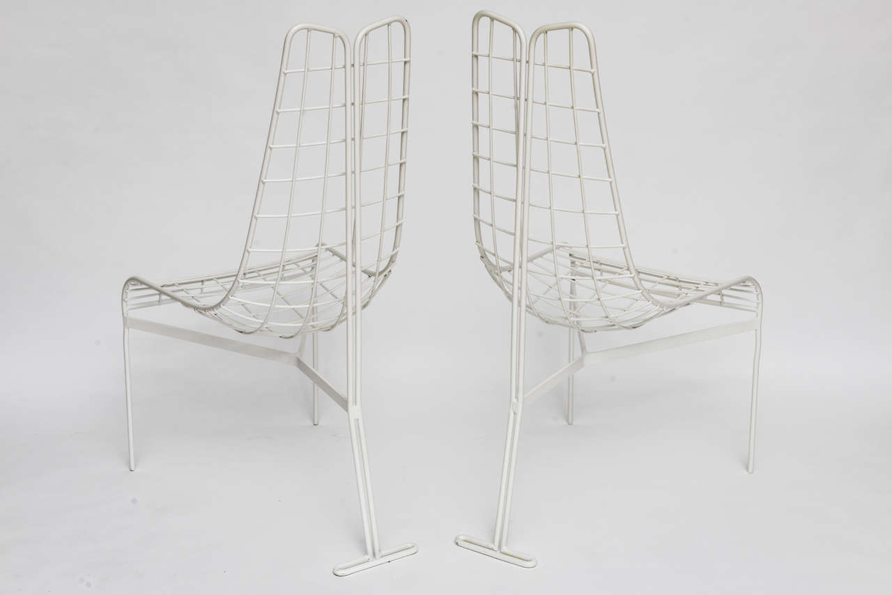 Pair Of Tall Back Capricorn Chairs By Vladimir Kagan Two