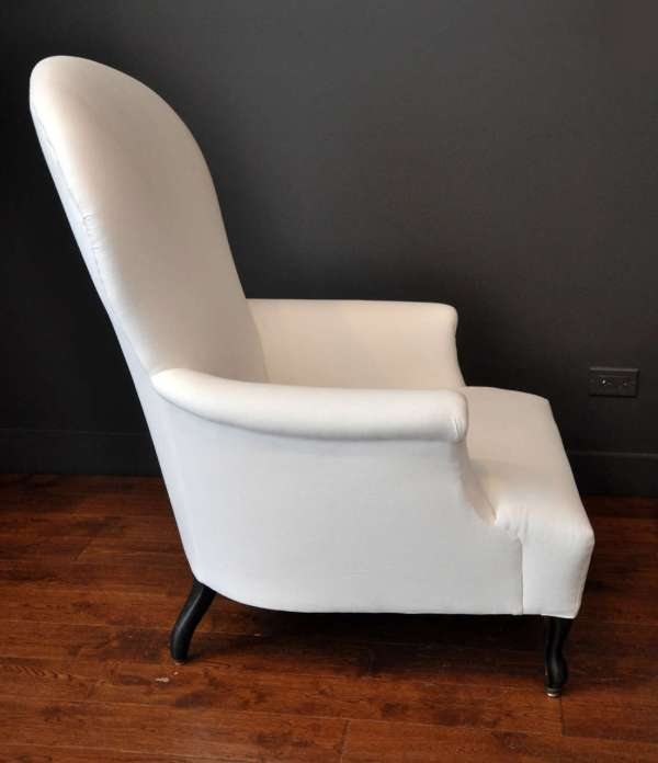 Funky French Chaise Lounge Chair And Ottoman 1stdibs