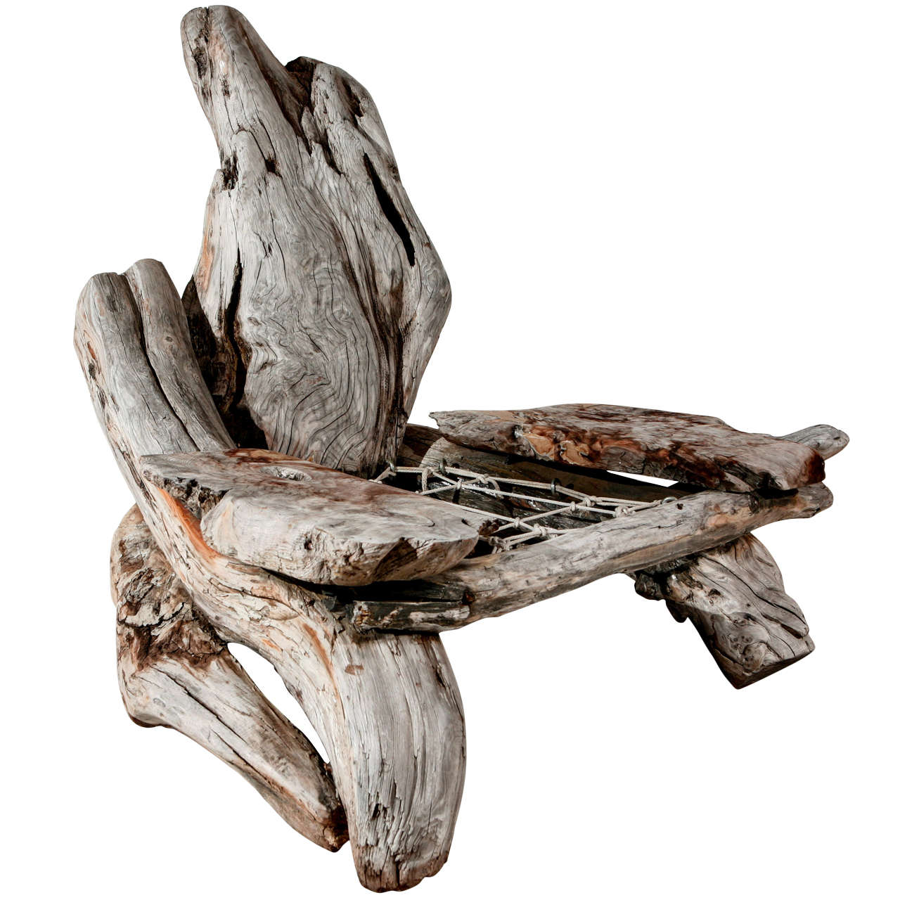 Driftwood Chair Sculptural Driftwood Chair At 1stdibs