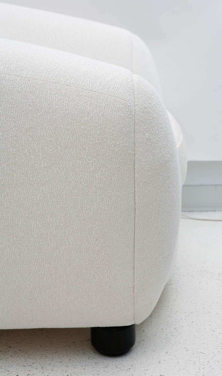 oversized arm chair white plastic pool lounge chairs polar bear after jean royère at 1stdibs