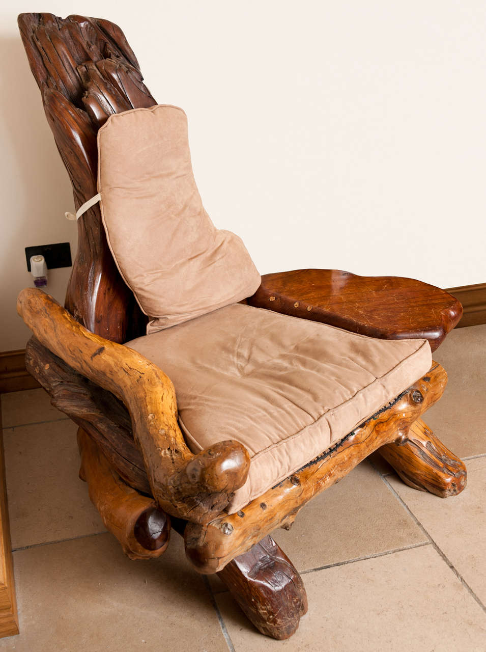 swivel patio chairs sale plastic stack lounge chair in redwood, usa circa 1970 for at 1stdibs