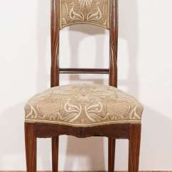 Bergere Chairs Fisher Price Rainforest High Chair Recall French Art Nouveau 'poppy' By Louis Majorelle At 1stdibs