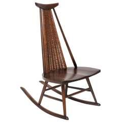 Wicker Rocking Chairs Joovy Nook High Chair Reviews Rare Ilmari Tapiovaara Quotdr No Quot At