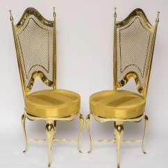 Unique Accent Chairs Armchair Covers For Arms Extremely Brass At 1stdibs