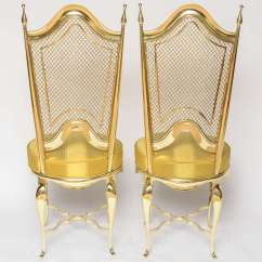 Unique Accent Chairs Colorful Wooden Extremely Brass At 1stdibs