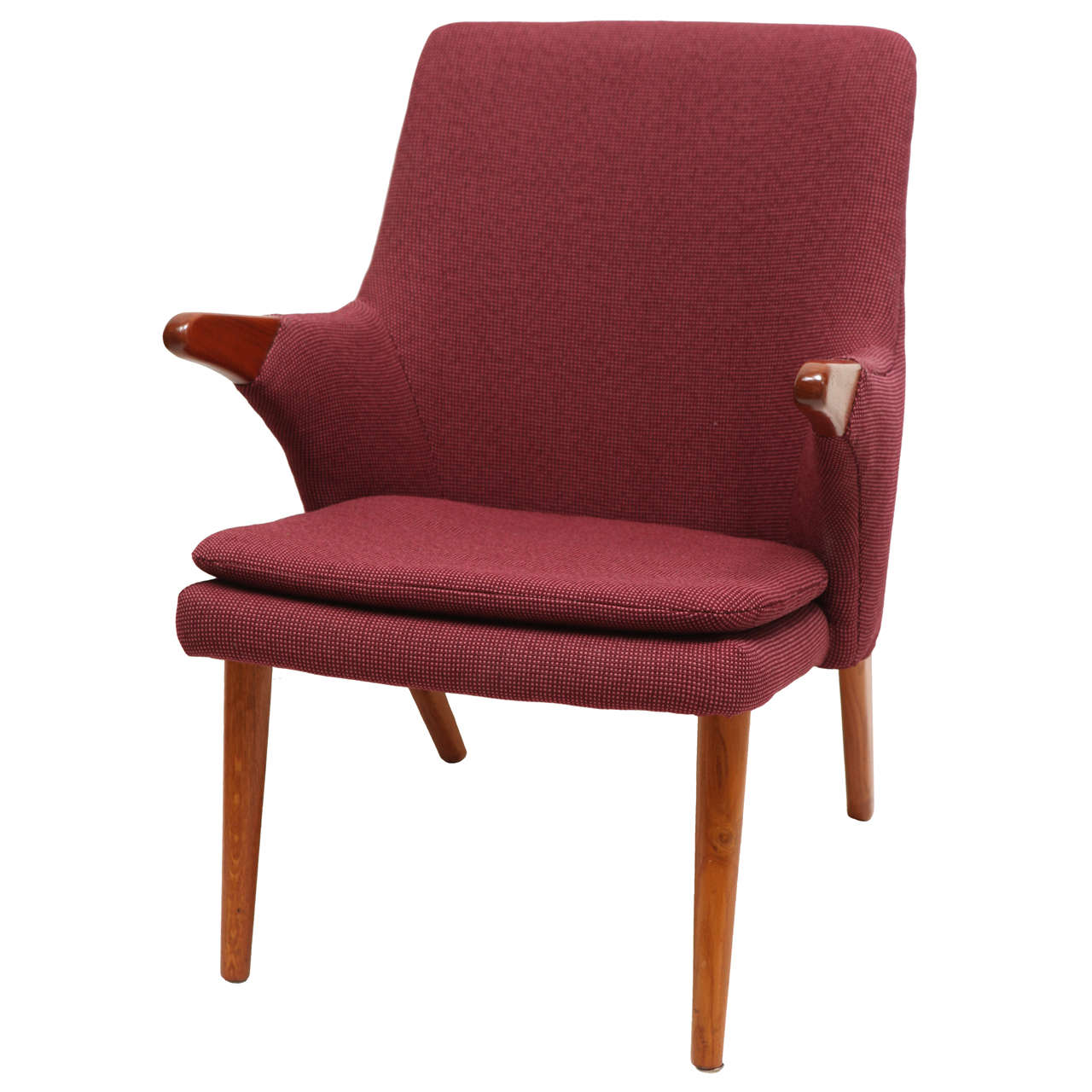 american leather swing chair pottery barn and a half cover danish modern at 1stdibs