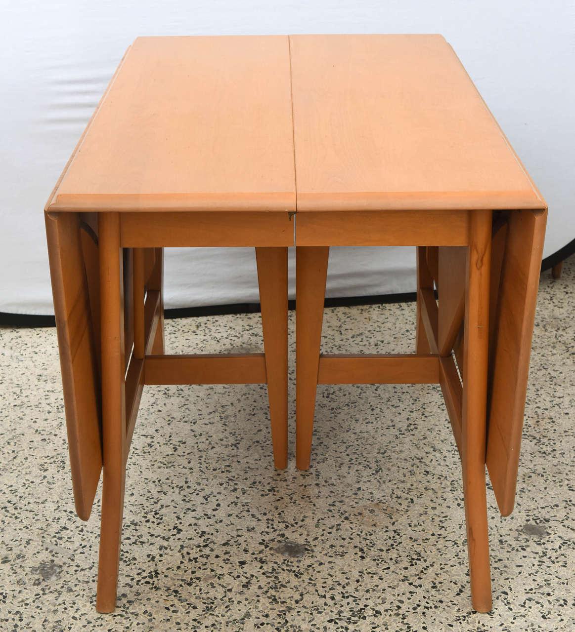 Heywood Wakefield Dining Room Table Interior Design