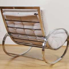 How To Make A Rocking Chair Not Rock Wooden Chairs Zevi And Ottoman At 1stdibs