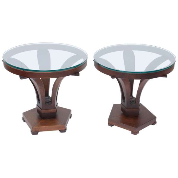 Edward Wormley Tulip Side Tables For Sale at 1stdibs