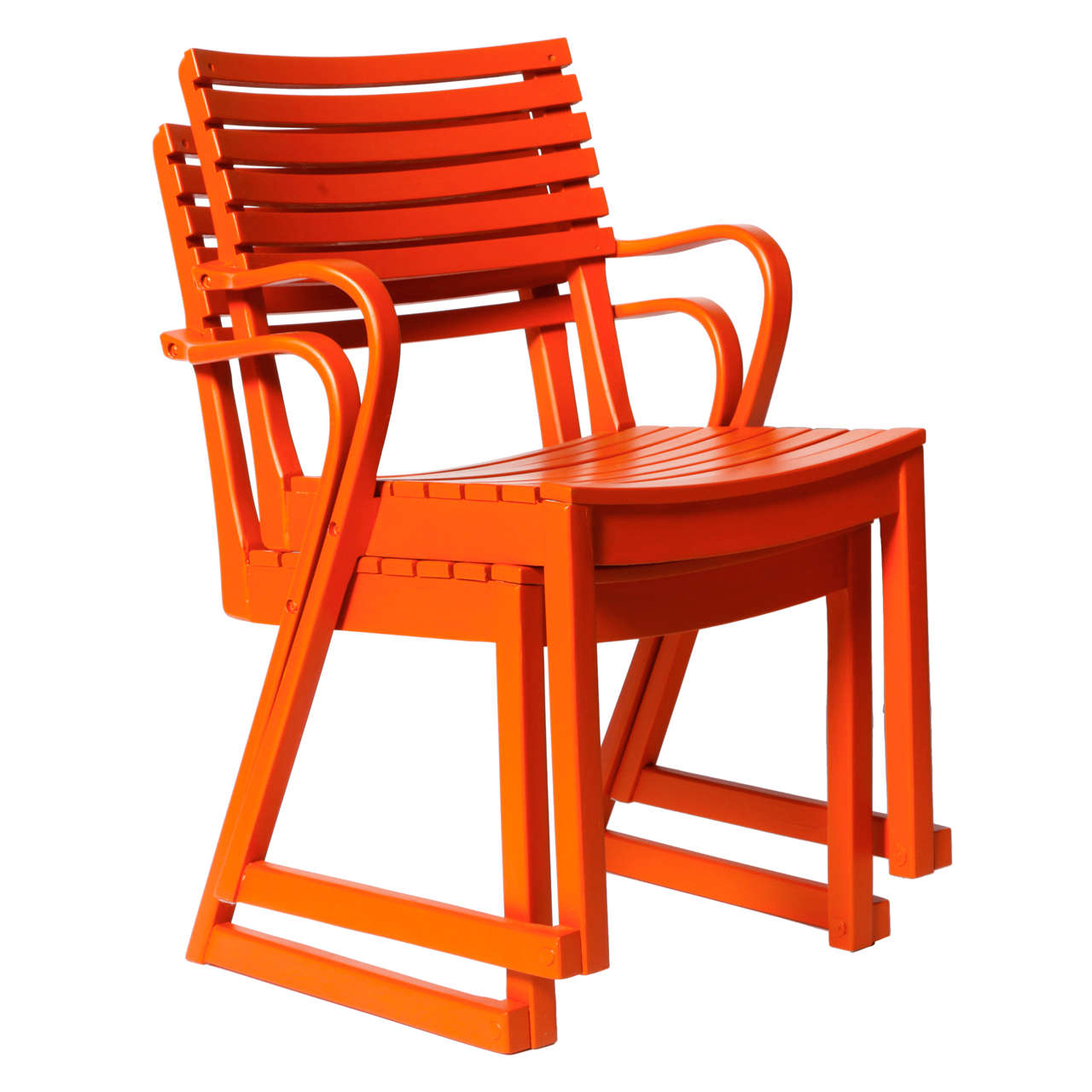 american leather swing chair covers for rent in san antonio pair of deckchairs by sven markelius at 1stdibs