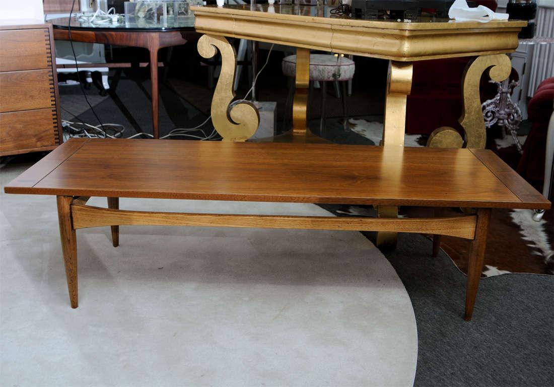 1960's Lane Wood Coffee Table At 1stdibs