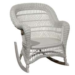 Wicker Rocking Chairs Solid Yellow Accent Chair Heywood Wakefield At 1stdibs For Sale