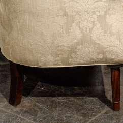 Barrel Back Chair Ergonomic Lazada Large Wing For Sale At 1stdibs