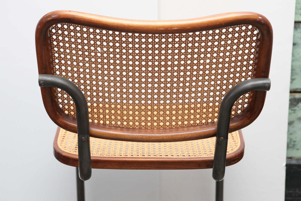 antique metal chairs for sale ikea tall chair set of four vintage caned at 1stdibs