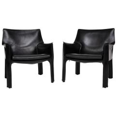 Mario Bellini Chair Louis Arm Cab Lounge Chairs At 1stdibs