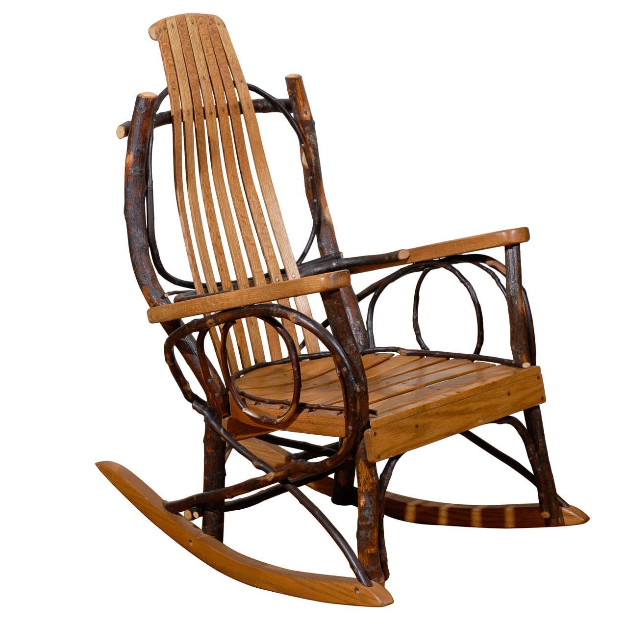 handmade rocking chairs library vintage original amish chair at 1stdibs