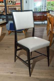 Pair Of Occasional Chairs Attributed Gio Ponti
