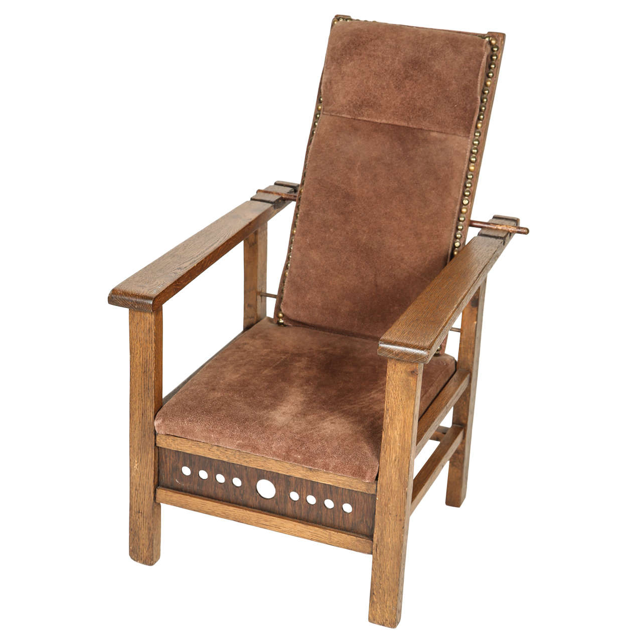 Morris Chairs Antique Oak Child 39s Morris Chair For Sale At 1stdibs