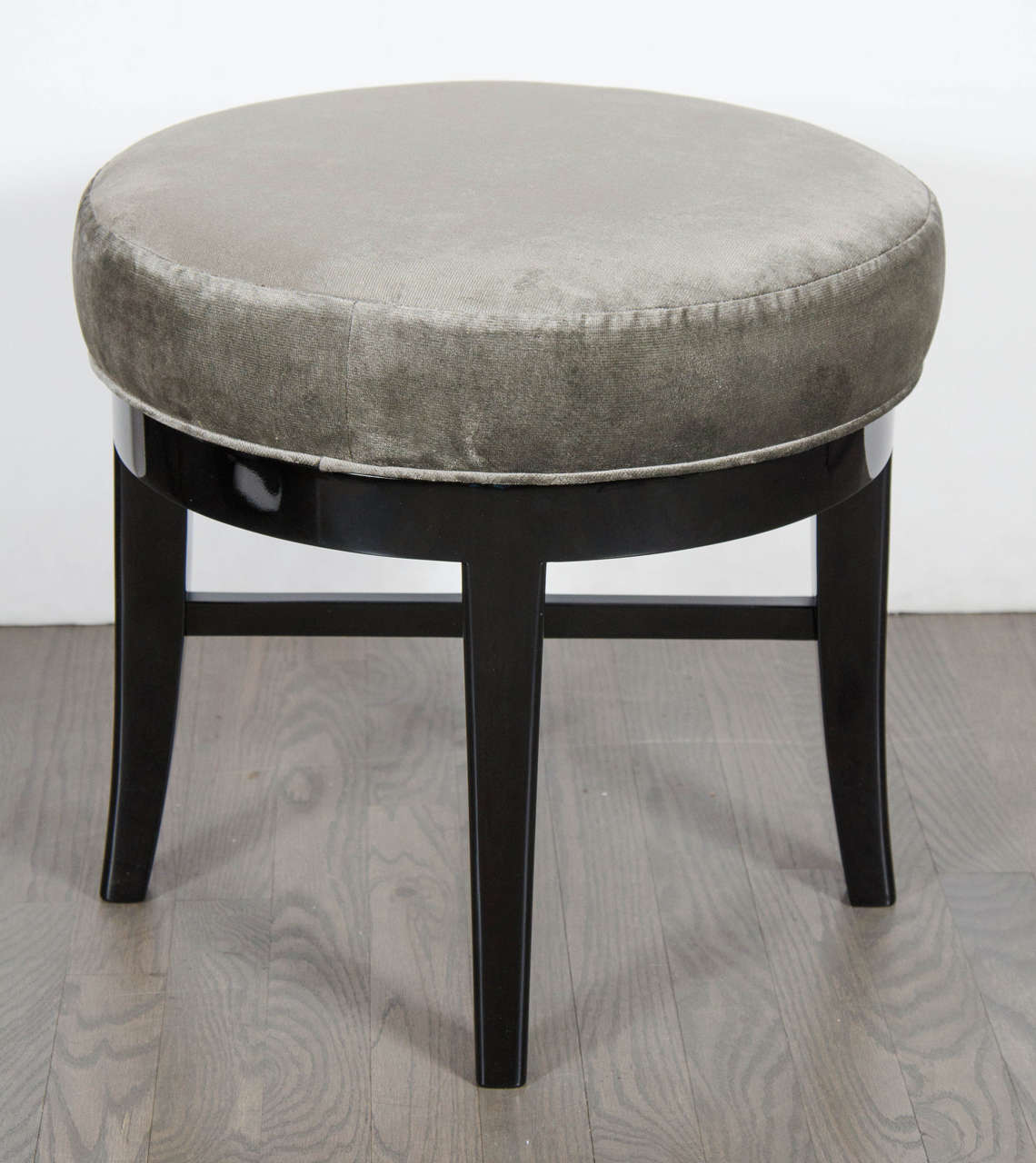 swivel vanity chair cheap wobble chiropractic mid century modernist round stool with x