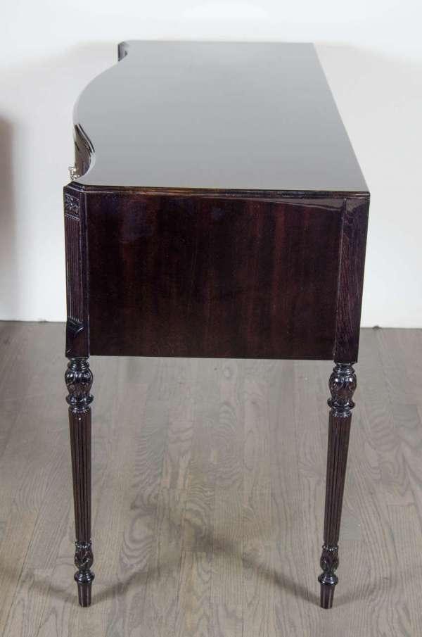 Elegant 1940s Hollywood Vanity Writing Table