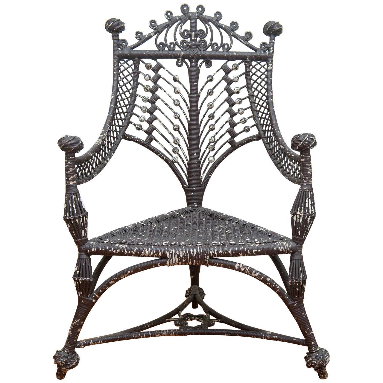 heywood wakefield wicker chairs gaming chair xbox 360 three legged 19th century
