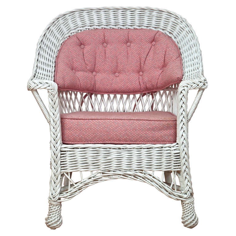heywood wakefield wicker chairs zero gravity chair oversized bar harbor for sale at 1stdibs