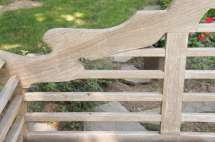 Fine English Vintage Lutyens Bench In Teak 1stdibs
