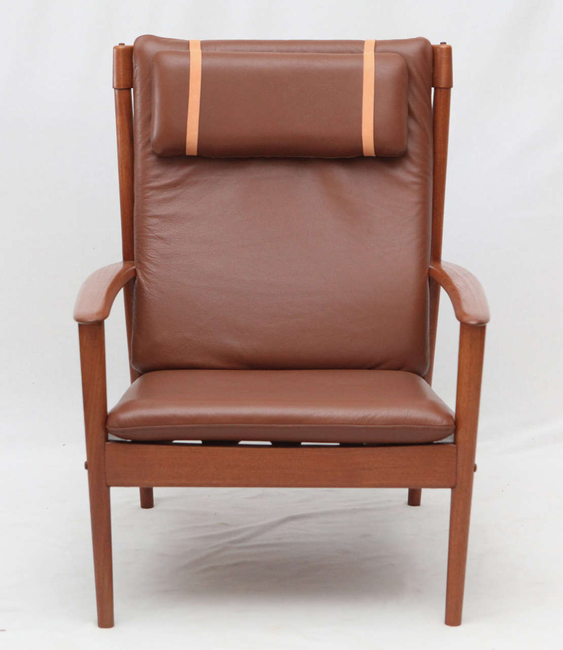 High Back Lounge Chair Grete Jalk High Back Lounge Chair At 1stdibs