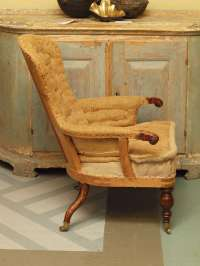 Tall-Backed Single Armchair at 1stdibs
